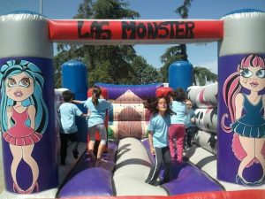 Castillo Hinchable Monster High