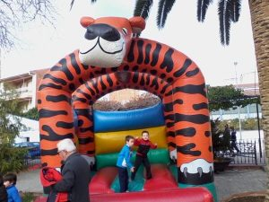 Castillo Hinchable Tigre