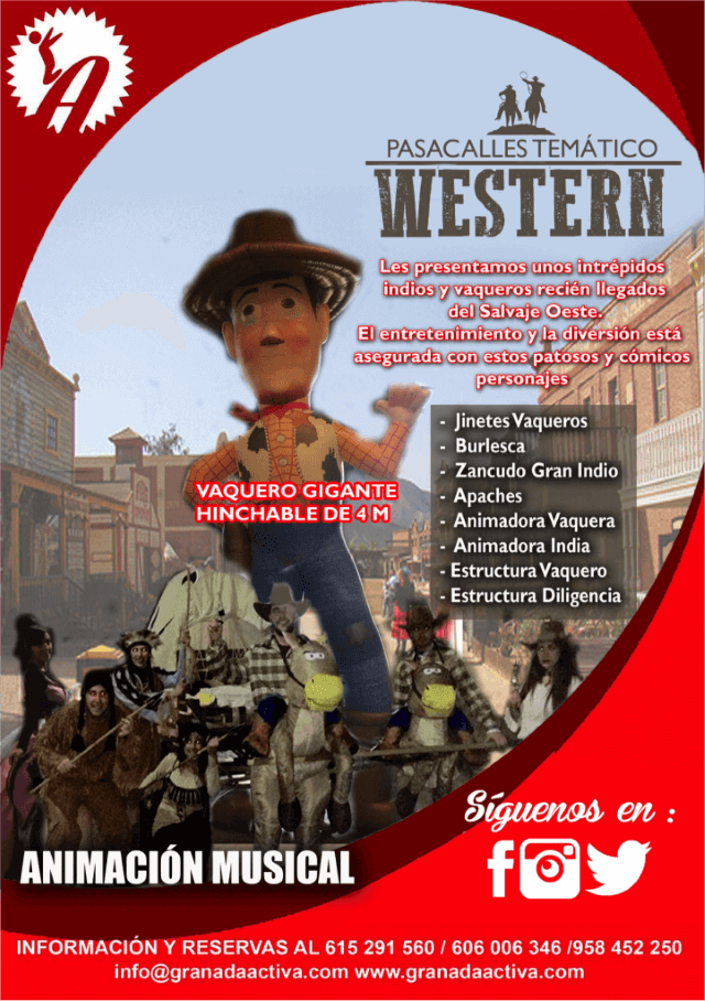 pasacalles-western